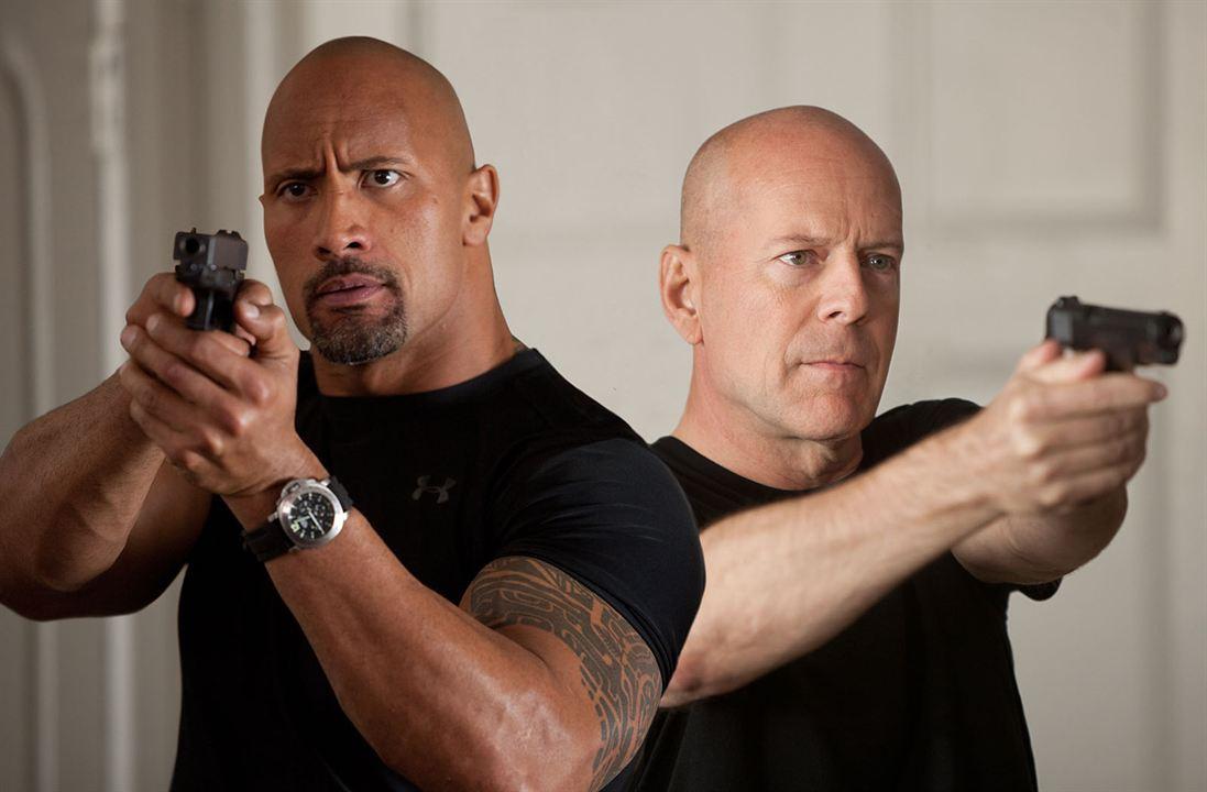 G.I. Joe 2: Die Abrechnung : Bild Bruce Willis, Dwayne Johnson