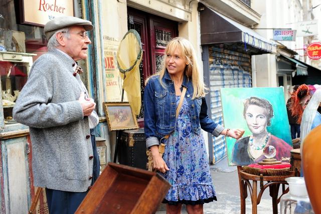 Ein Sommer in Paris : Bild Anica Dobra, Peter Fitz