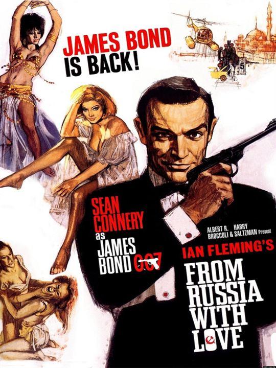James Bond 007 - Liebesgrüße aus Moskau : Kinoposter