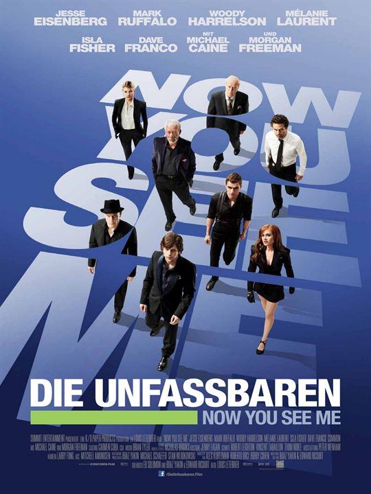 Die Unfassbaren - Now You See Me : Kinoposter