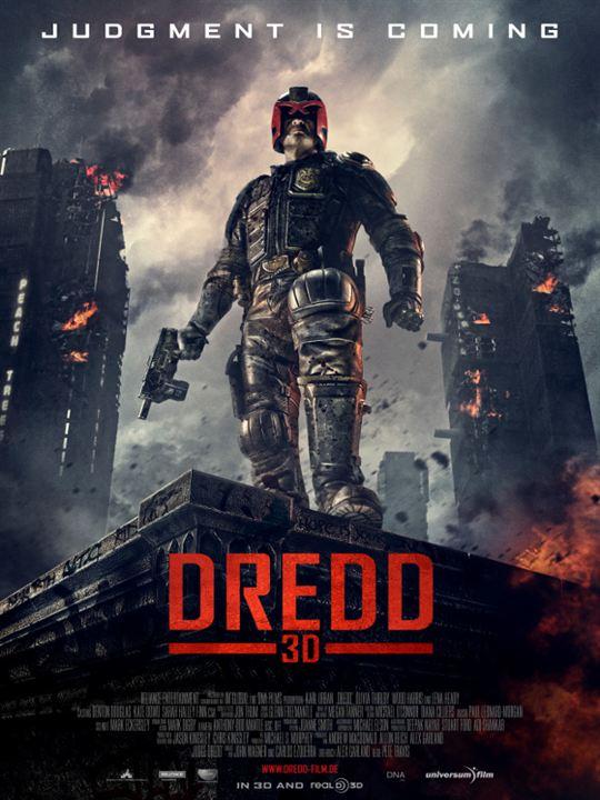 Dredd : Kinoposter