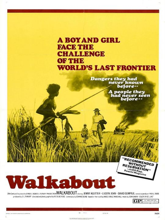 Walkabout : Kinoposter