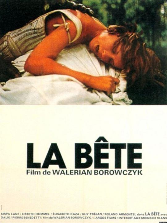 La Bête - Die Bestie : Kinoposter