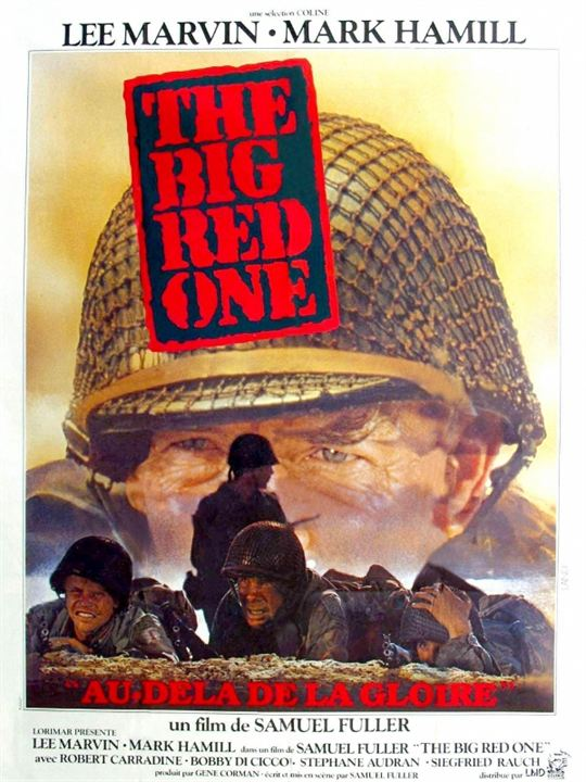 The Big Red One : Kinoposter