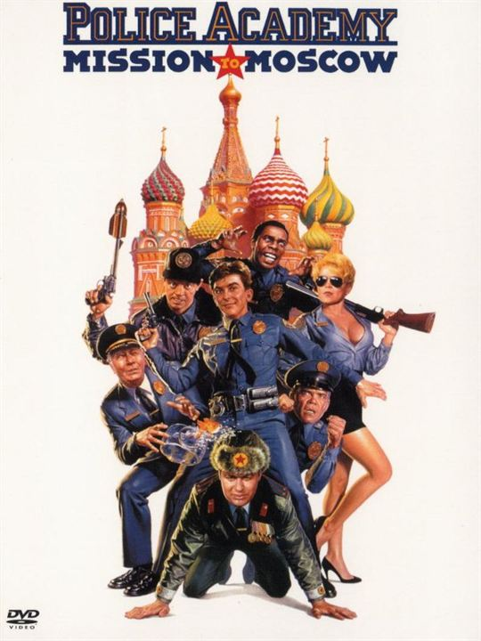 Police Academy 7 – Mission in Moskau : Kinoposter