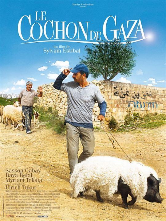 Das Schwein von Gaza : Kinoposter