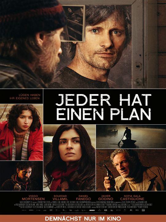 Jeder hat einen Plan : Kinoposter