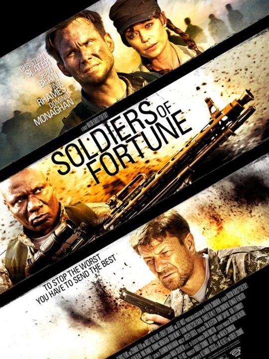 Soldiers of Fortune : Kinoposter