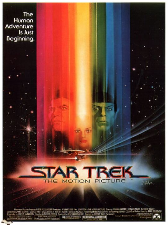 Star Trek - Der Film : Kinoposter