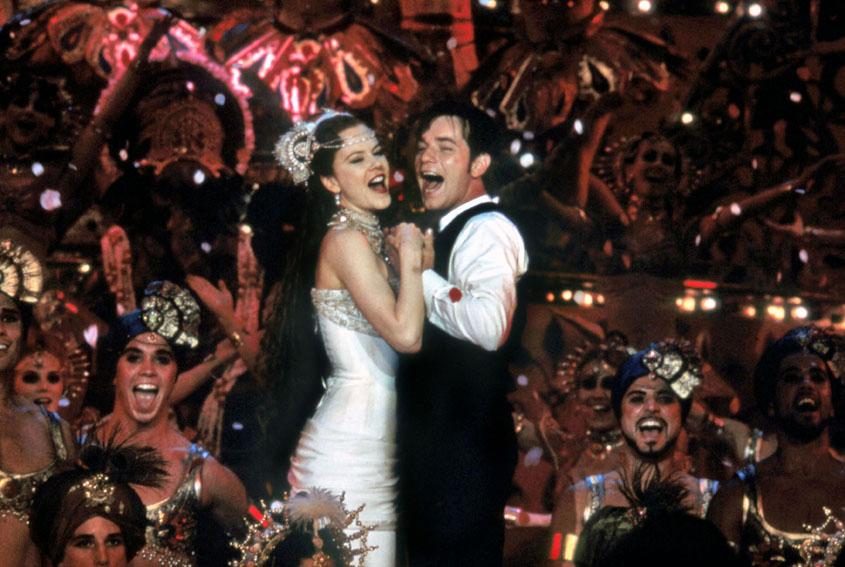 Moulin Rouge : Bild Ewan McGregor, Nicole Kidman