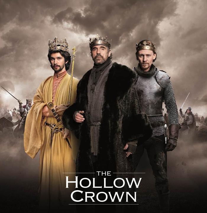 The Hollow Crown : Bild Ben Whishaw, Jeremy Irons, Tom Hiddleston