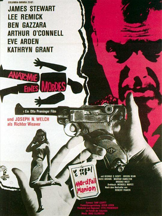 Poster zum Anatomie eines Mordes - Bild 1 - FILMSTARTS.de