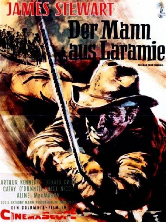 Der Mann aus Laramie : Kinoposter