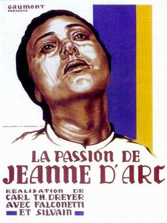 Die Passion der Jungfrau von Orléans : Kinoposter