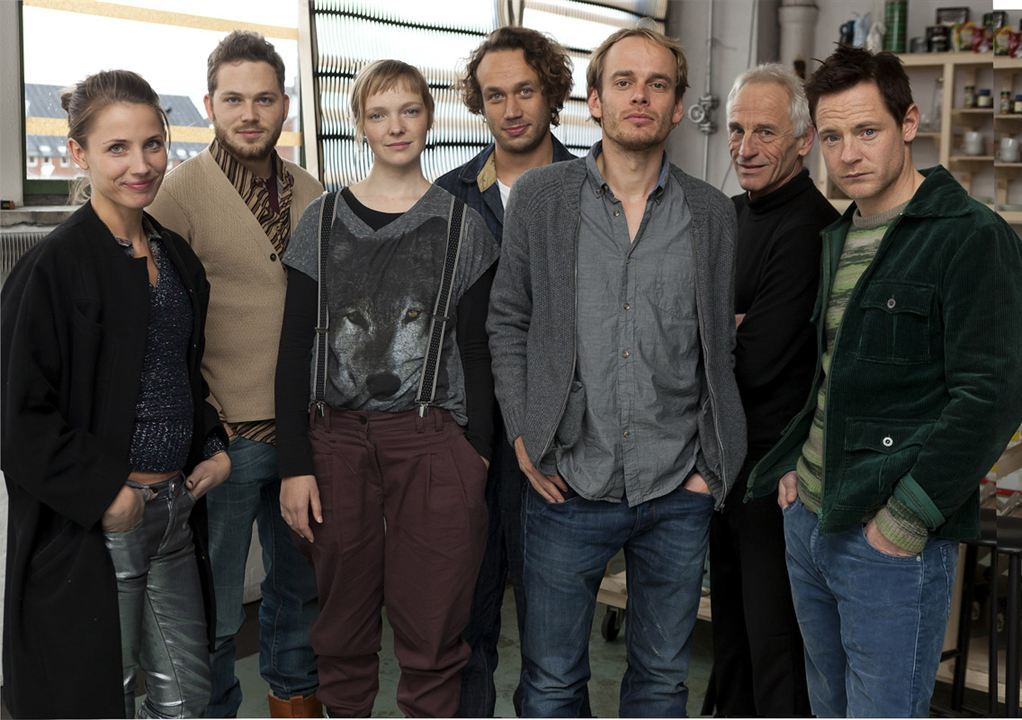 Bild Elmer Bäck, Johan Leysen, Paw Henriksen, Teun Luijkx, Thomas Ryckewaert