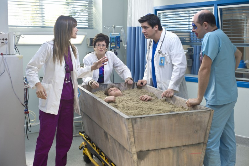 Childrens Hospital : Bild Ken Marino, Lake Bell, Megan Mullally, Rob Corddry