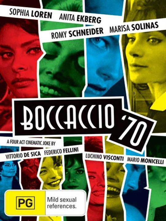 Boccaccio 70 : Kinoposter