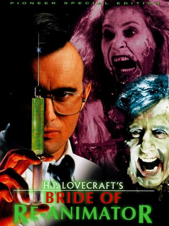 Bride of the Re-Animator : Kinoposter