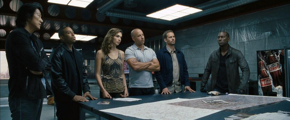 Fast & Furious 6 : Bild Gal Gadot, Ludacris, Paul Walker, Sung Kang, Tyrese Gibson
