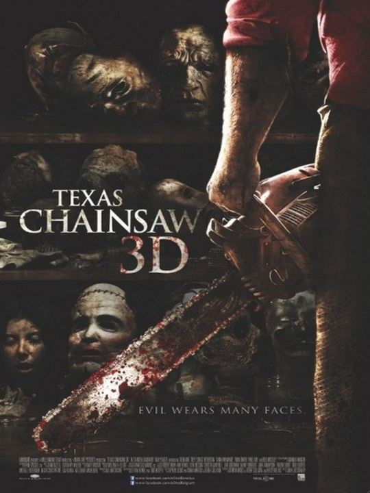 Texas Chainsaw 3D - The Legend Is Back : Kinoposter