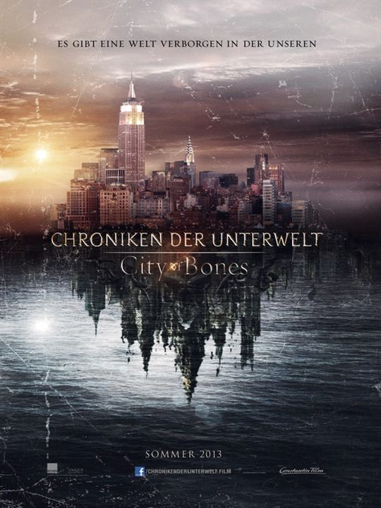 Chroniken der Unterwelt - City Of Bones : Kinoposter