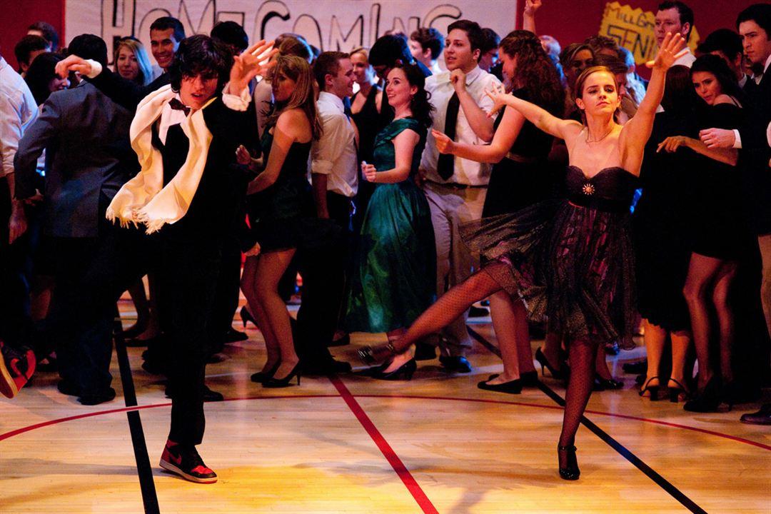 Vielleicht lieber morgen : Bild Emma Watson, Ezra Miller