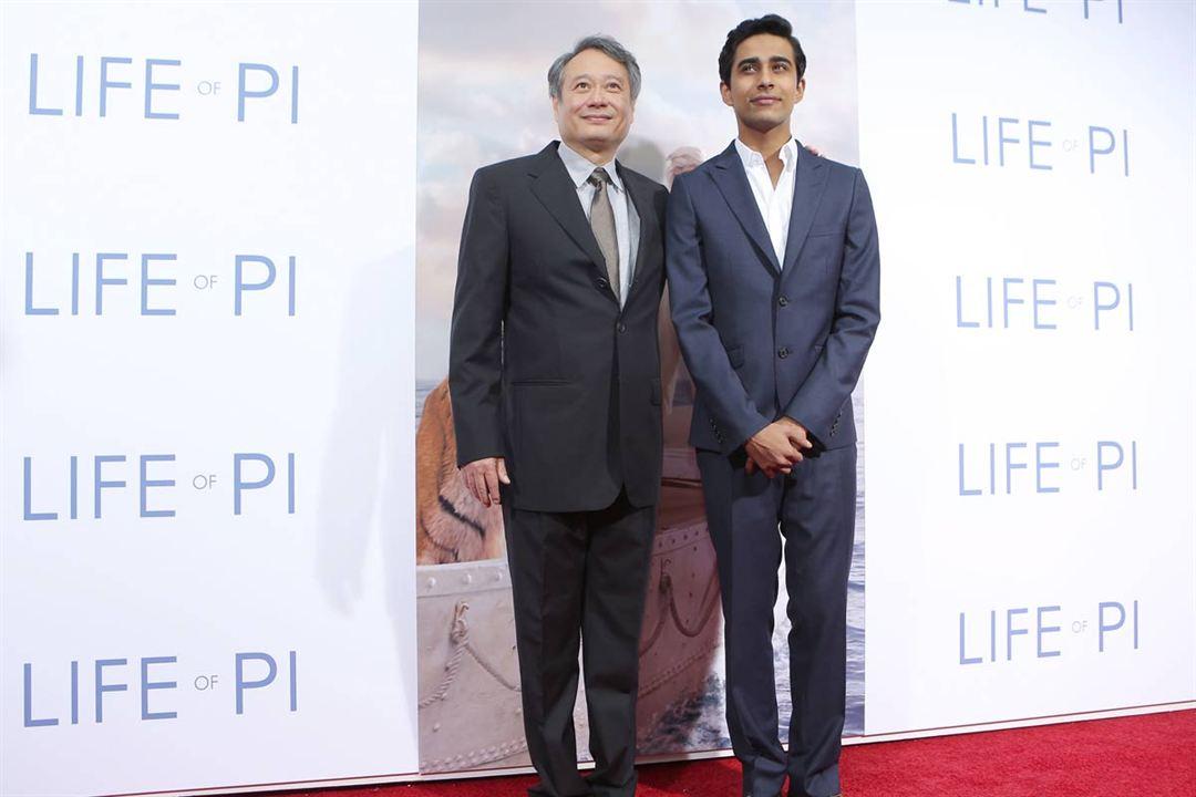 Life of Pi: Schiffbruch mit Tiger : Vignette (magazine) Ang Lee, Suraj Sharma