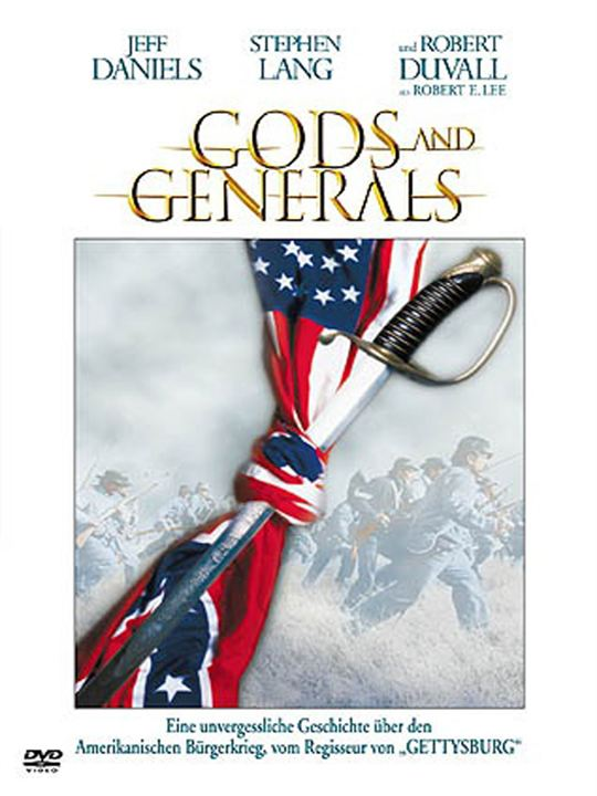 Gods and Generals : Kinoposter