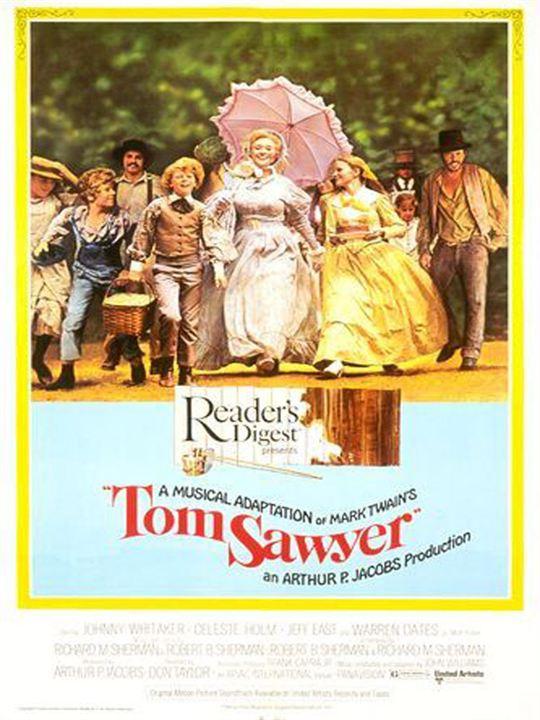 Tom Sawyers Abenteuer : Kinoposter