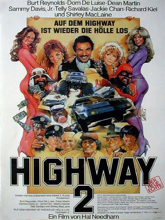 Auf dem Highway ist wieder die Hölle los : Kinoposter