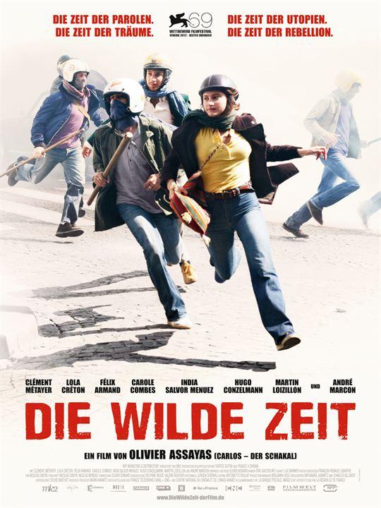 Die wilde Zeit : Kinoposter