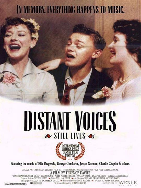 Entfernte Stimmen - Stilleben : Kinoposter