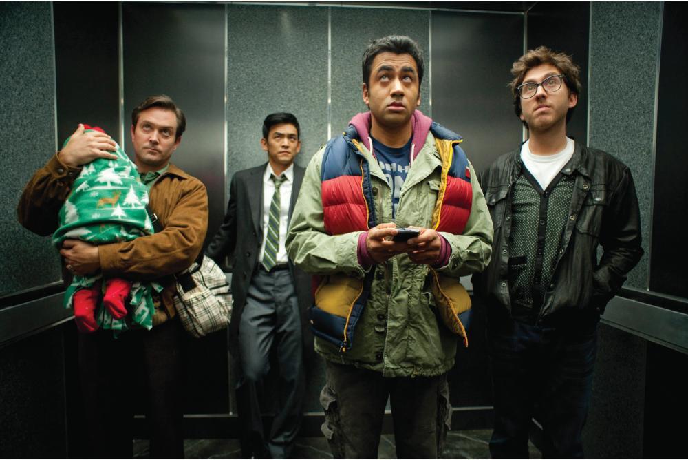 Harold & Kumar - Alle Jahre wieder : Bild John Cho, Kal Penn, Thomas Lennon