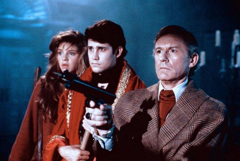 Mein Nachbar, der Vampir : Bild Roddy McDowall, Traci Lind, William Ragsdale