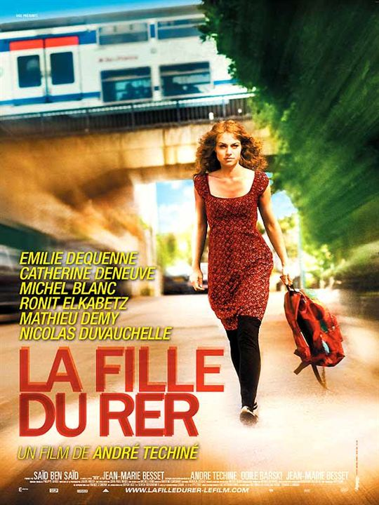 La Fille du RER : Kinoposter