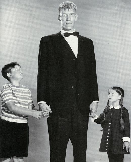 Die Addams Family : Bild Ken Weatherwax, Ted Cassidy
