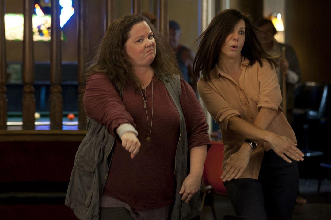 Taffe Mädels : Bild Melissa McCarthy, Sandra Bullock