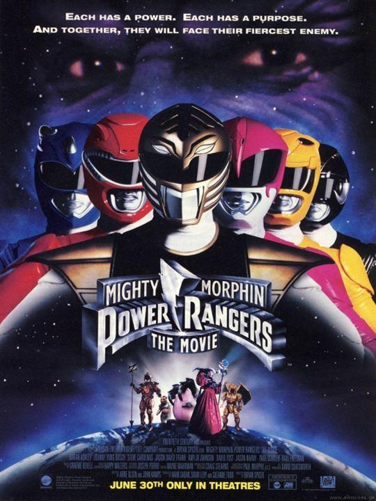 Power Rangers - Der Film : Kinoposter