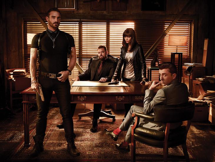 Bild Joshua Sasse, Marton Csokas, Matthew Beard, Thandie Newton