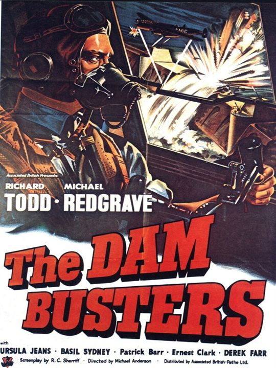 Dam Busters : Kinoposter