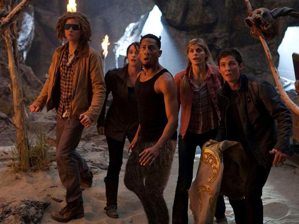 Percy Jackson 2: Im Bann des Zyklopen : Bild Alexandra Daddario, Brandon T. Jackson, Logan Lerman