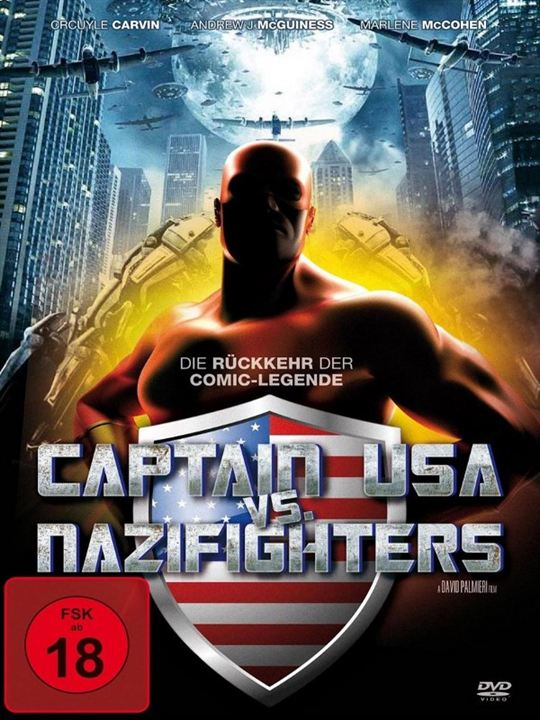 Captain USA vs. Nazifighters : Kinoposter