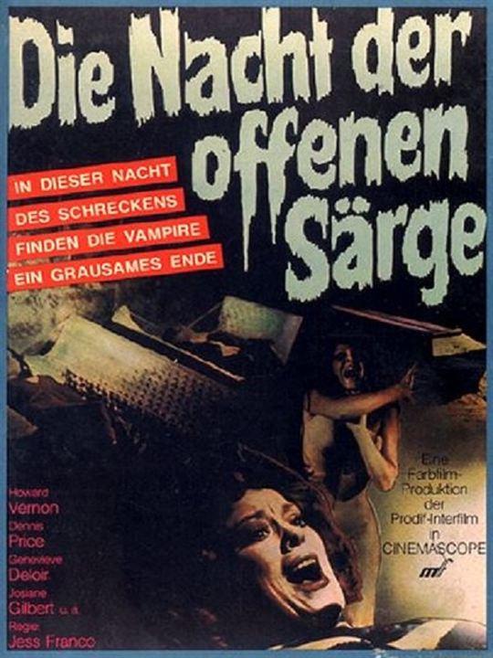 Die Nacht der offenen Särge : Kinoposter
