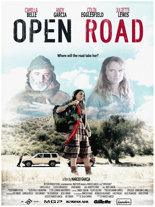 Open Road - Wohin wird der Weg sie führen? : Kinoposter