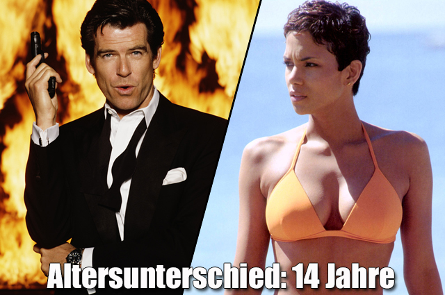 """Pierce Brosnan und Halle Berry in """"James Bond 007 - Stirb an einem anderen Tag"""""""