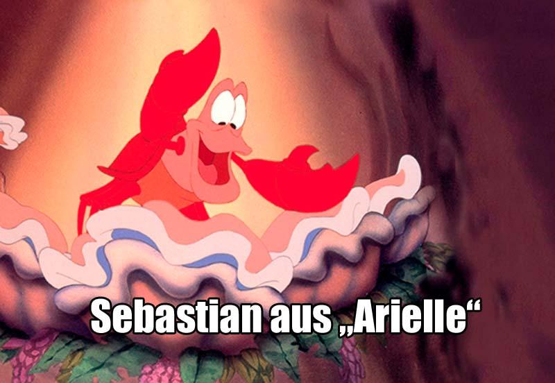 """Sebastian aus """"Arielle"""""""