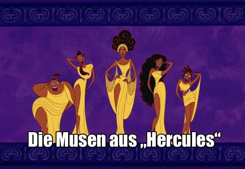 """Die Musen aus """"Hercules"""""""