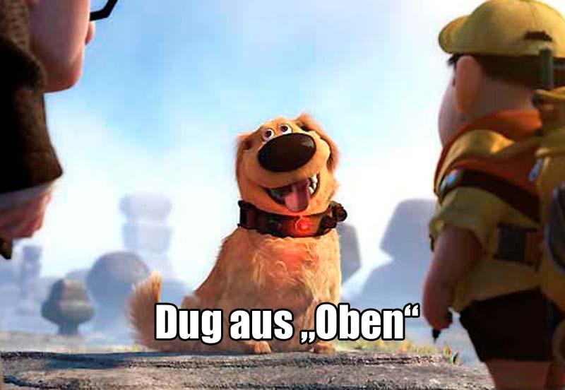 """Dug aus """"Oben"""""""