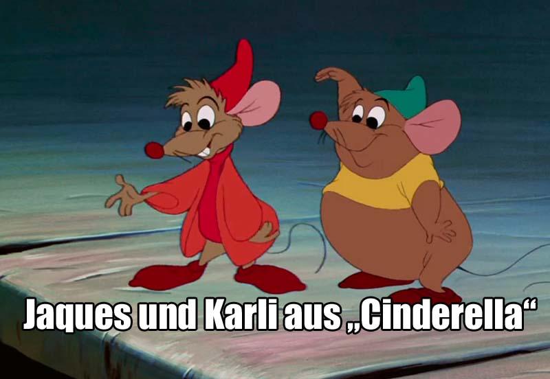 """Jaques und Karli aus """"Cinderella"""""""