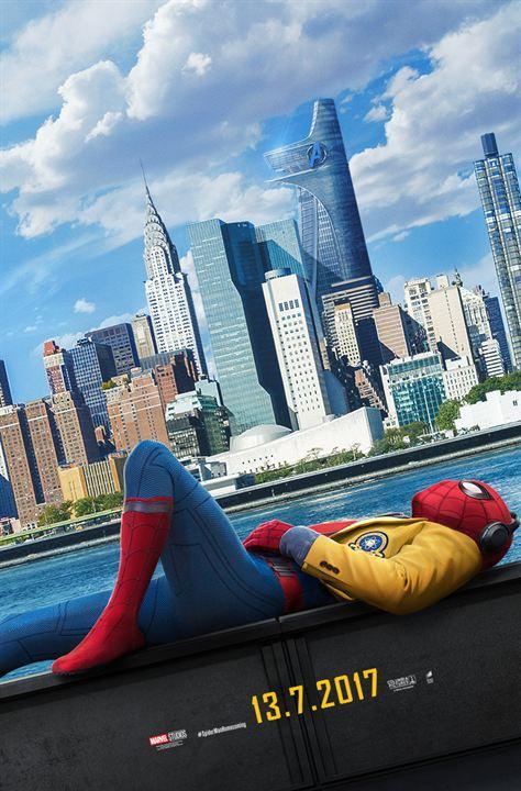 """Das deutsche Poster zu """"Spider-Man: Homecoming"""""""
